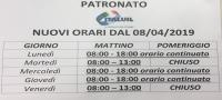 Orari PATRONATO ITAL UIL - Variazione